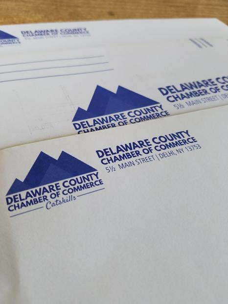 Delaware County Chamber Envelopes