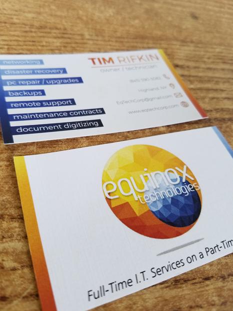 Tim Rifkin Business Card