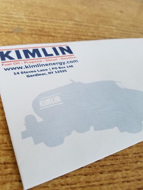 Kimlin Energy #10 Envelope