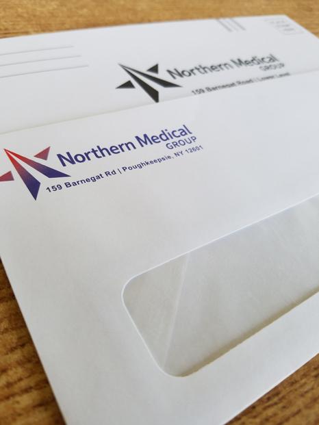 NMG invoices envelopes