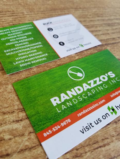 Buck Randazzo business card