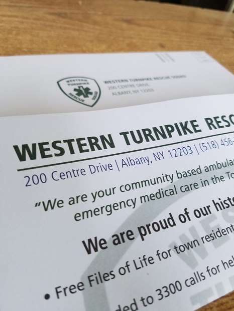 WTRS Appeal mailing materials