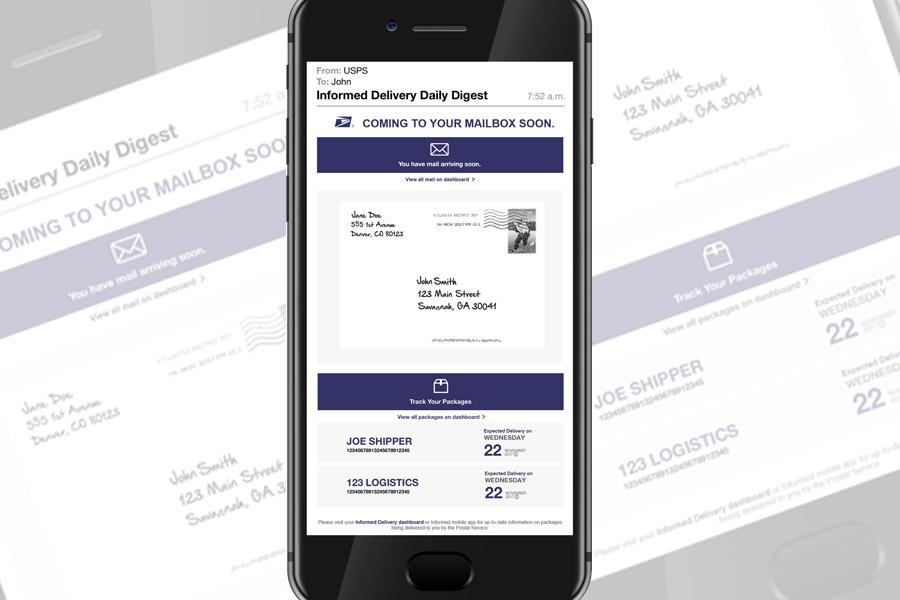 USPS Informed Delivery App