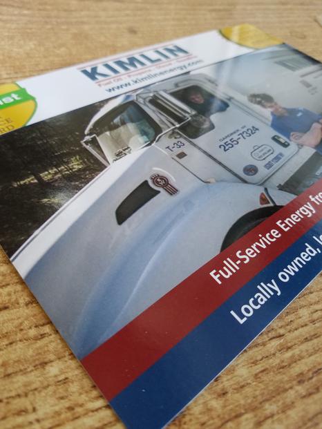 Kimlin Energy postcard